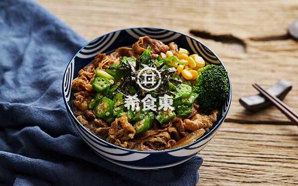 秋葵牛丼饭
