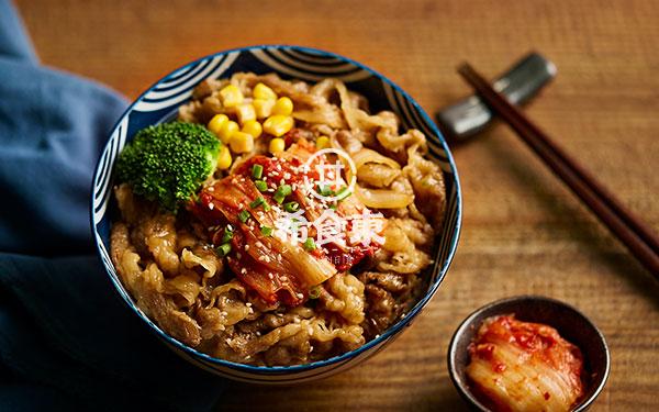 泡菜牛丼饭